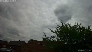 Gesicht Wolke