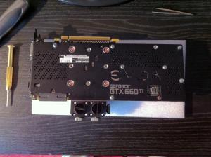 EVGA GeForce GTX 660 Ti FTW+ 3GB w/Backplate