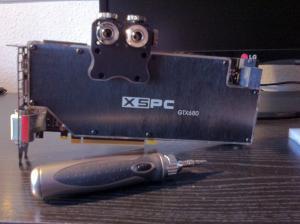 EVGA GeForce GTX 660 Ti FTW+ 3GB mit XSPC Razor GTX680