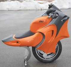 Motorrad ein Rad